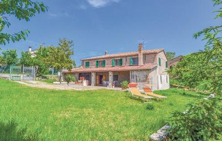 Gemütliches Ferienhaus : Region Rimini für 9 Personen