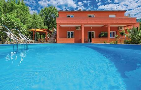 Gemütliches Ferienhaus : Region Primorje-Gorski für 8 Personen