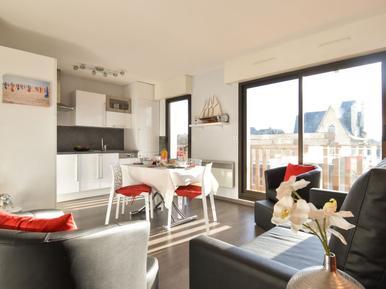 Für 4 Personen: Hübsches Apartment / Ferienwohnung in der Region Deauville