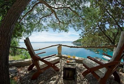Gemütliches Ferienhaus : Region Dalmatien für 4 Personen