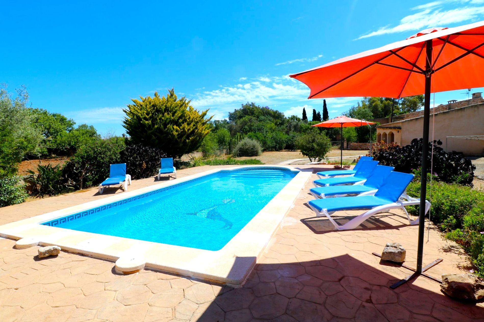 Ferienhaus mit Privatpool für 6 Personen ca 200 m² in Santanyi Mallorca Südostküste von Mallorca