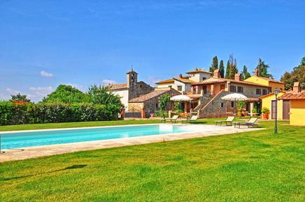 Für 6 Personen: Hübsches Apartment / Ferienwohnung in der Region Arezzo