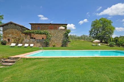 Für 2 Personen: Hübsches Apartment / Ferienwohnung in der Region Castelnuovo Berardenga