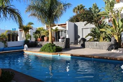 Ferienhaus mit Privatpool für 6 Personen ca.    Lanzarote