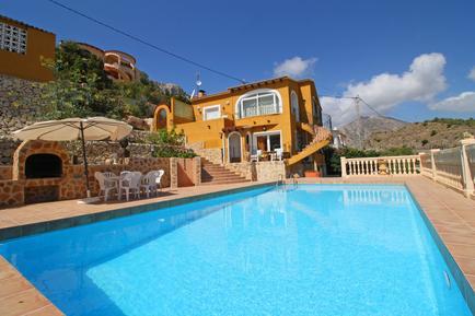 Gemütliches Ferienhaus : Region Costa-Blanca für 9 Personen