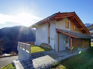 Gemütliches Ferienhaus : Region Hérémence für 6 Personen