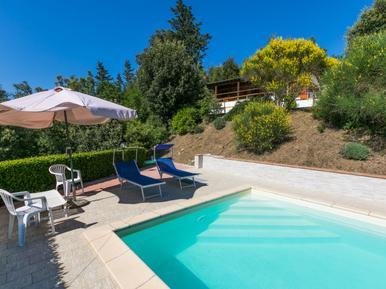 Gemütliches Ferienhaus : Region Montecatini Val di Cecina für 5 Personen