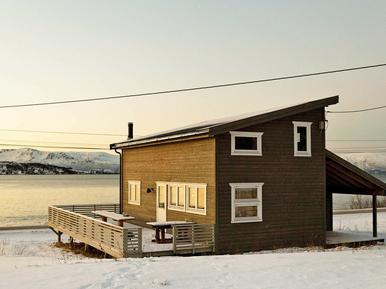 Gemütliches Ferienhaus : Region Troms für 6 Personen