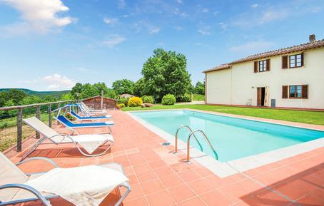 Gemütliches Ferienhaus : Region Monticiano für 13 Personen