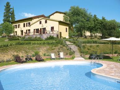 Gemütliches Ferienhaus : Region San Giustino Valdarno für 22 Personen