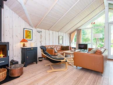 Gemütliches Ferienhaus : Region Djursland für 5 Personen