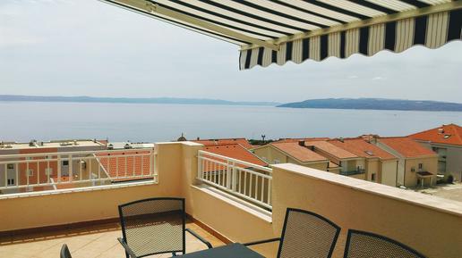Für 10 Personen: Hübsches Apartment / Ferienwohnung in der Region Makarska