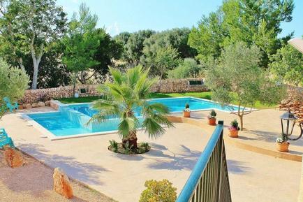 Gemütliches Ferienhaus : Region Mallorca für 9 Personen