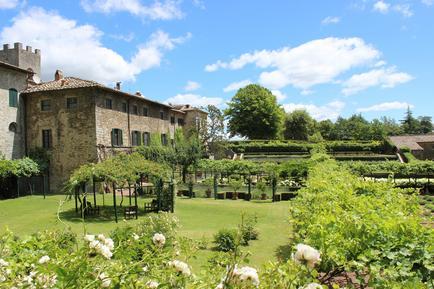 Für 5 Personen: Hübsches Apartment / Ferienwohnung in der Region Gaiole In Chianti