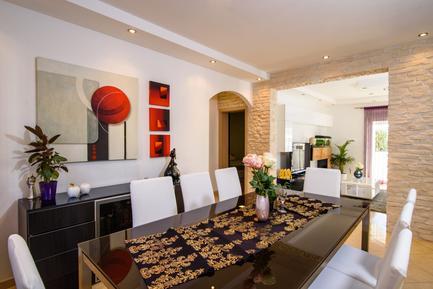 Für 9 Personen: Hübsches Apartment / Ferienwohnung in der Region Trogir