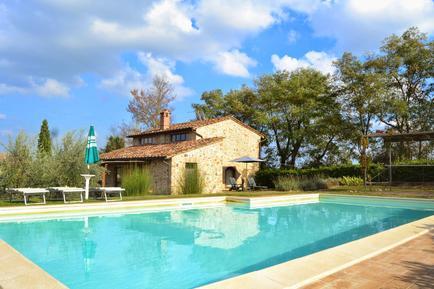 Gemütliches Ferienhaus : Region San Gimignano für 6 Personen