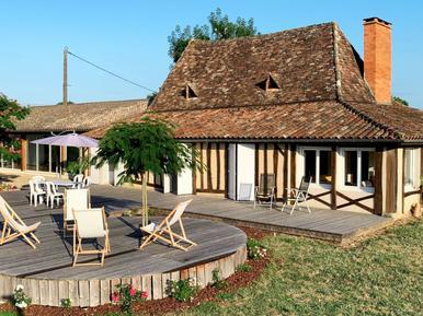Gemütliches Ferienhaus : Region Aquitanien für 6 Personen
