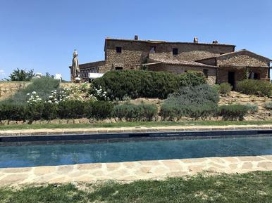 Gemütliches Ferienhaus : Region Pienza für 14 Personen