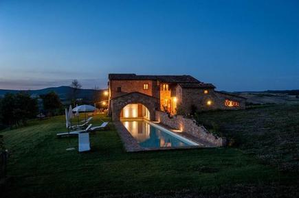 Gemütliches Ferienhaus : Region Pienza für 15 Personen