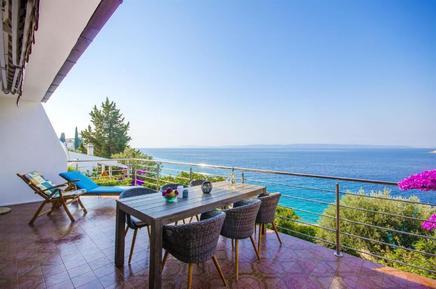 Gemütliches Ferienhaus : Region Ciovo für 7 Personen