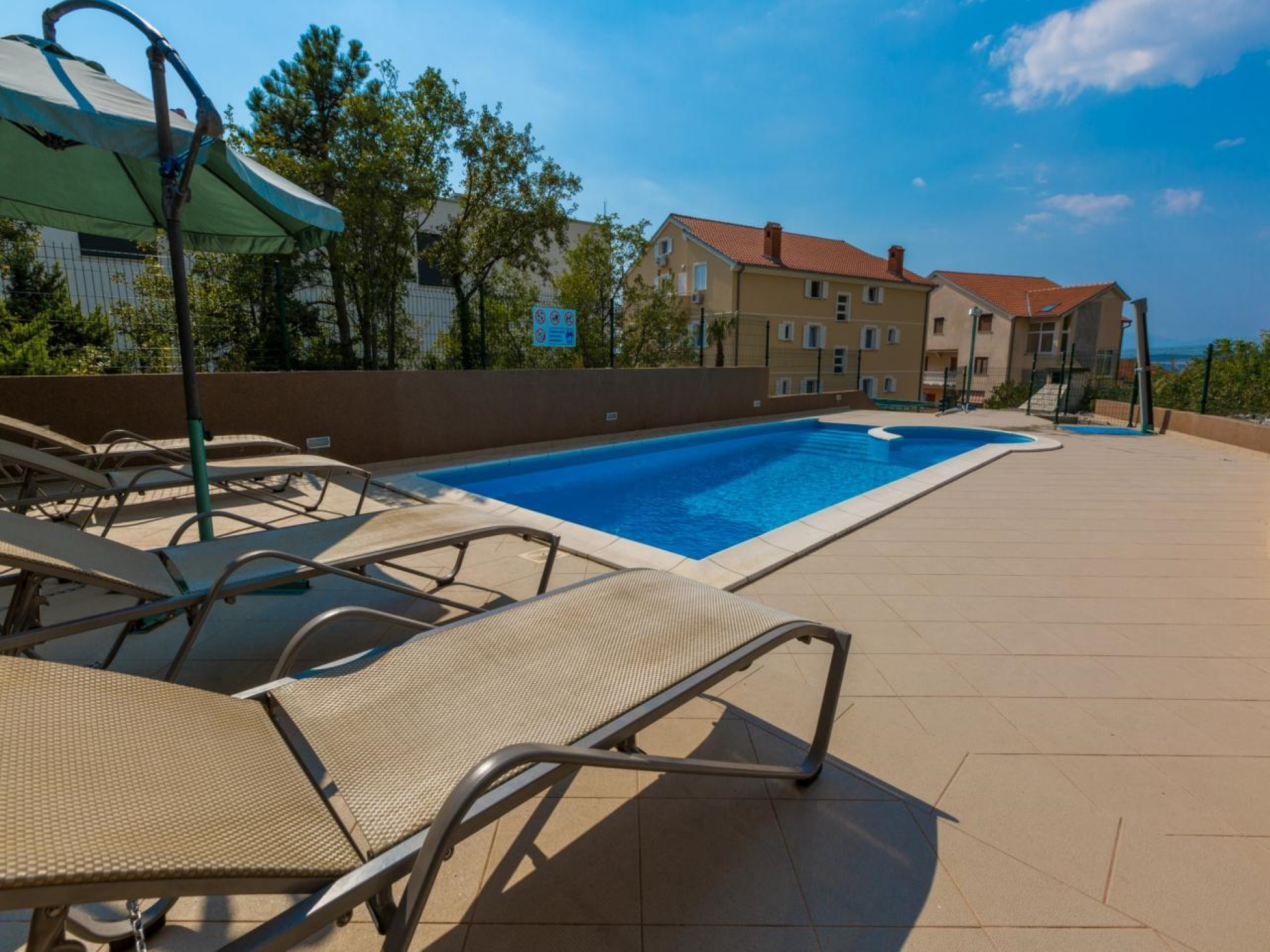 Ferienwohnung für 2 Personen ca 35 m² in Dramalj Kvarner Bucht Crikvenica und Umgebung