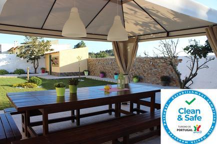 Gemütliches Ferienhaus : Region Costa de Lisboa für 11 Personen