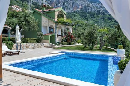 Gemütliches Ferienhaus : Region Makarska für 5 Personen