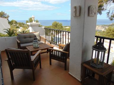 Für 4 Personen: Hübsches Apartment / Ferienwohnung in der Region Ibiza