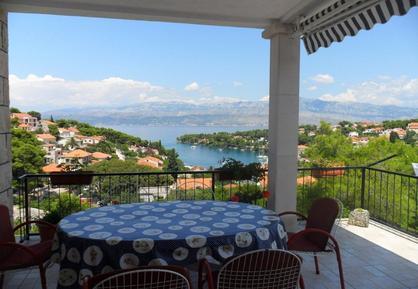 Für 7 Personen: Hübsches Apartment / Ferienwohnung in der Region Dalmatien