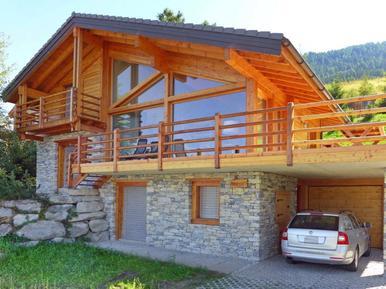 Gemütliches Ferienhaus : Region Nendaz für 8 Personen