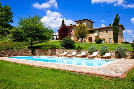 Gemütliches Ferienhaus : Region Castelnuovo Berardenga für 16 Personen