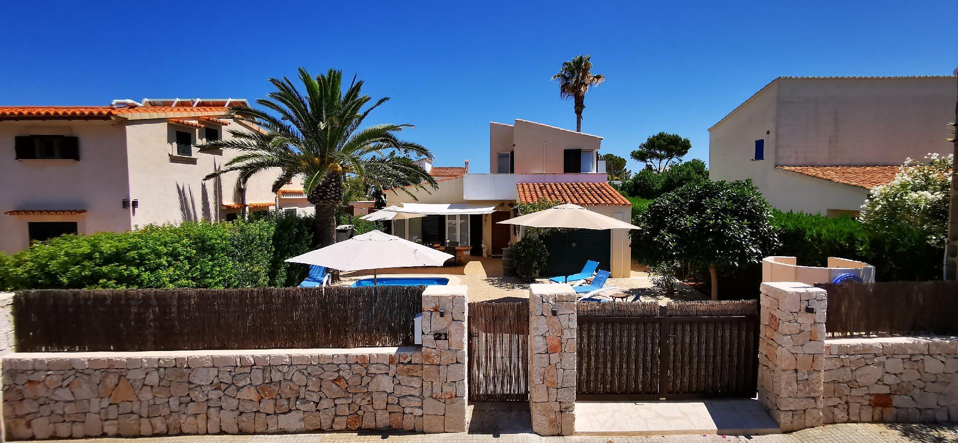 Ferienhaus mit Privatpool für 6 Personen 2 Kinder ca 129 m² in Cala Llombards Mallorca Südostküste von Mallorca