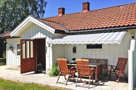 Gemütliches Ferienhaus : Region Ostfold für 6 Personen