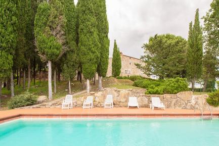 Gemütliches Ferienhaus : Region Gaiole In Chianti für 6 Personen