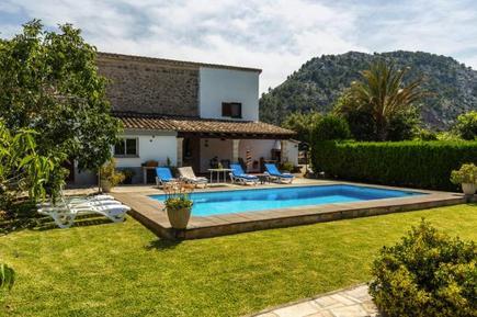 Gemütliches Ferienhaus : Region Balearen für 7 Personen
