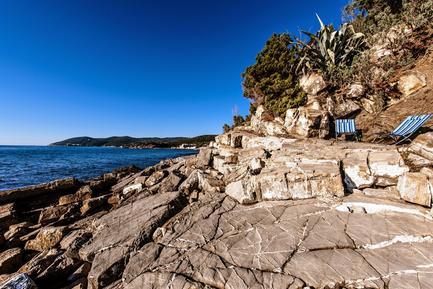 Gemütliches Ferienhaus : Region Quercianella für 7 Personen