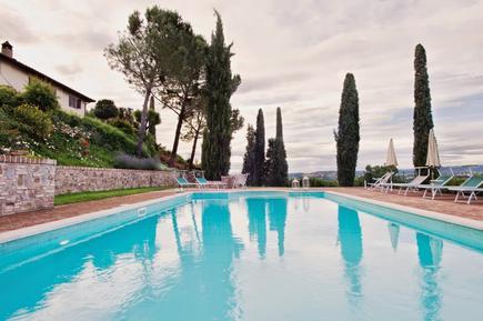 Gemütliches Ferienhaus : Region Certaldo für 18 Personen