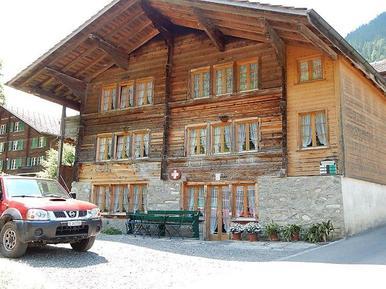 Für 4 Personen: Hübsches Apartment / Ferienwohnung in der Region Saxeten