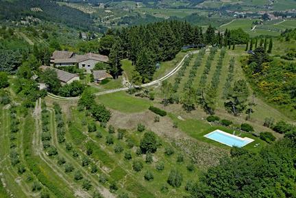 Für 7 Personen: Hübsches Apartment / Ferienwohnung in der Region Greve in Chianti