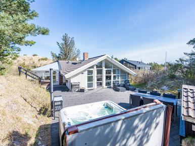 Gemütliches Ferienhaus : Region Holmsland Klit für 6 Personen