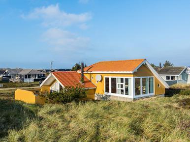 Gemütliches Ferienhaus : Region Holmsland Klit für 5 Personen