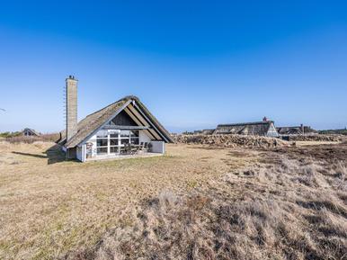 Gemütliches Ferienhaus : Region Holmsland Klit für 4 Personen
