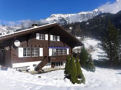 Gemütliches Ferienhaus : Region Lauterbrunnen für 12 Personen