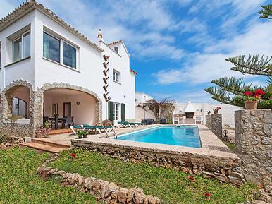 Gemütliches Ferienhaus : Region Menorca für 10 Personen