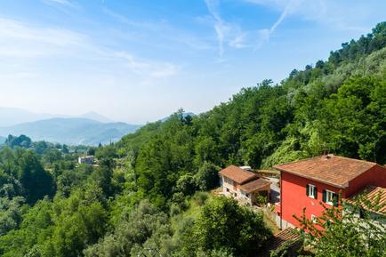 Gemütliches Ferienhaus : Region Marliana für 8 Personen