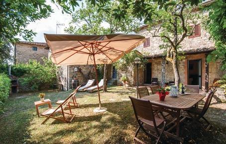 Gemütliches Ferienhaus : Region Gaiole In Chianti für 5 Personen