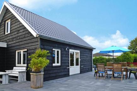 Gemütliches Ferienhaus : Region Zeeland für 6 Personen