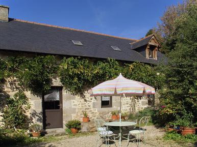 Gemütliches Ferienhaus : Region Bretagne für 3 Personen