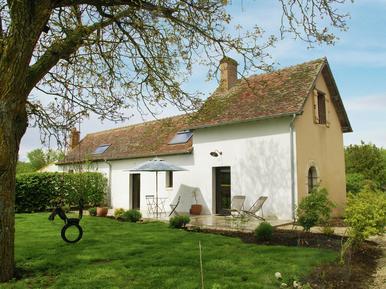 Gemütliches Ferienhaus : Region Loiretal für 3 Personen