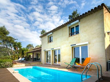 Gemütliches Ferienhaus : Region Hyères für 8 Personen